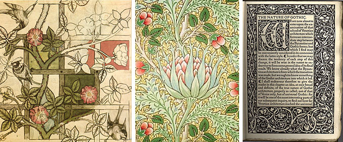 Examples of the Arts and Crafts movement