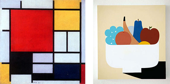 Examples of Minimalist paintings